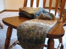 Tweed scarf done