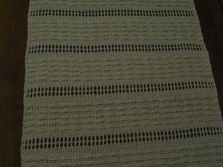 Dresser scarf weave