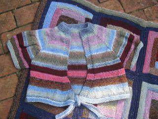 Blanket scraps minisweater