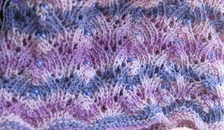 Lace cowl