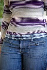 Sarah's belt on
