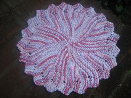 Round Dishcloth
