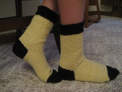 Scale-Skin Socks (Hogwarts Sock Swap)