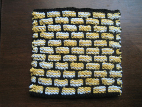 Hufflepuff Washcloth