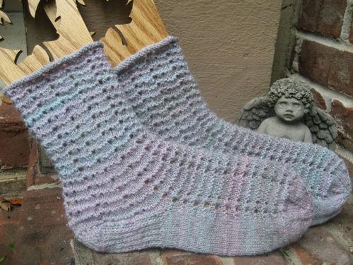 Handspun Cedar Dancing Socks