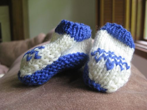 Teeny booties